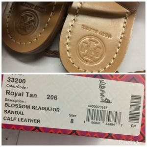0856b2858 Tory Burch Shoes - TORY BURCH Blossom Gladiator Wrap Sandals Flats